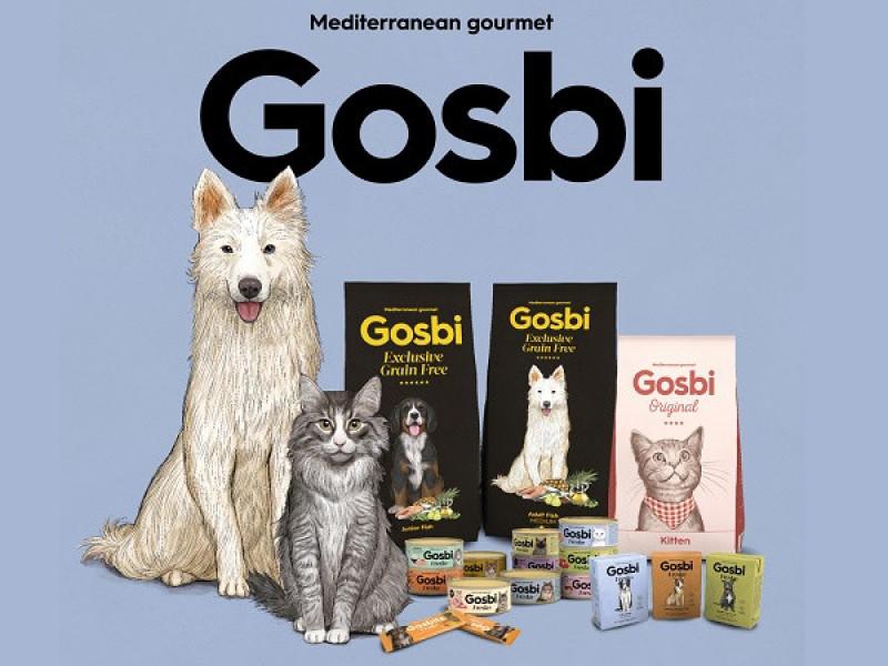 Новинка - корма для кошек и собак Gosbi!