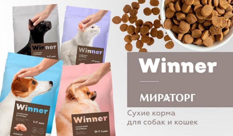 Новинка - сухие корма Winner!