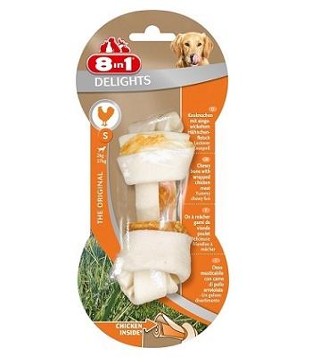 8in1 Delight S косточка с курицей для мелких и средних собак