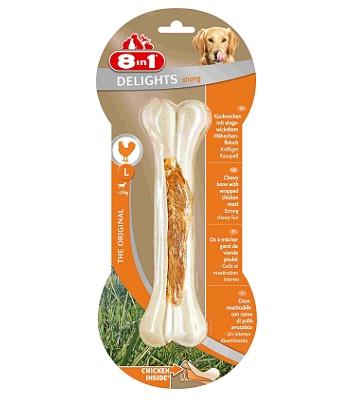 8in1 Delight Strong L косточка сверхпрочная для крупных собак