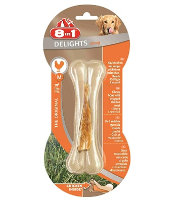 8in1 Delight Strong M косточка сверхпрочная для средних и крупных собак