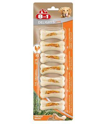 8in1 Delight Strong XS косточка сверхпрочная для мелких собак