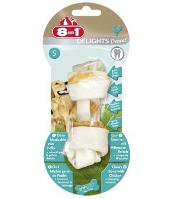 8in1 Dental Delight S косточка с минералами для мелких и средних собак