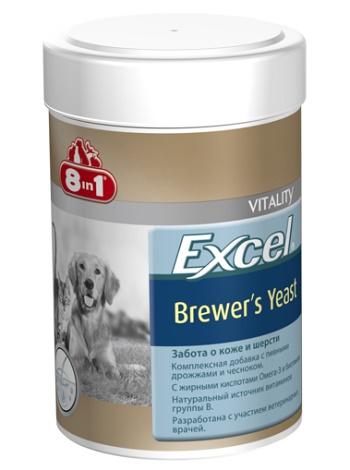 8in1 Excel Brewer`s Yeast пивные дрожжи