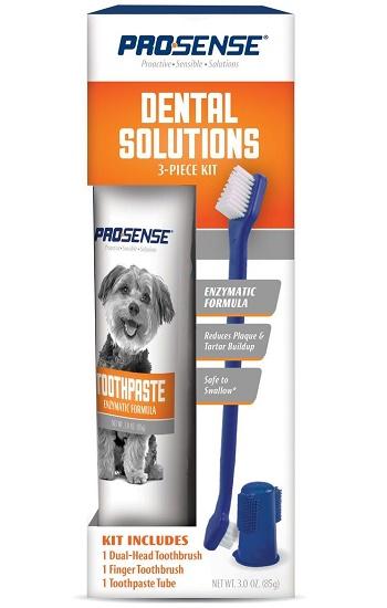8in1 Pro-Sense набор для ухода за зубами для собак