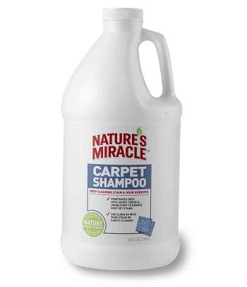 Nature`s Miracle Carpet Shampoo моющее средство для ковров и мебели