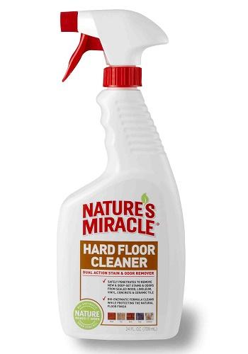 Nature`s Miracle Hard Floor Cleaner уничтожитель пятен и запахов для пола