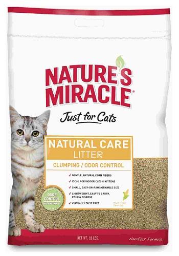 Nature`s Miracle Natural Care наполнитель для туалета комкующийся