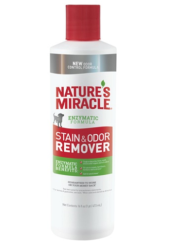Nature`s Miracle S&O Remover уничтожитель пятен и запахов от собак