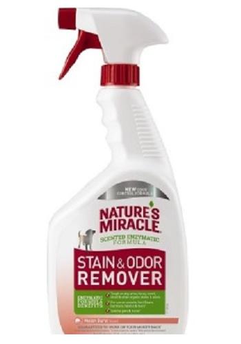 Nature`s Miracle S&O Remover Spray уничтожитель пятен и запахов от собак с ароматом дыни