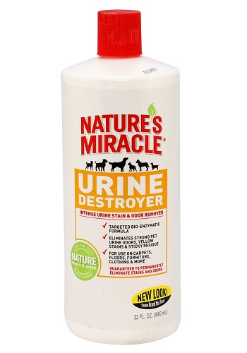 Nature`s Miracle Urine Destroyer уничтожитель пятен и запахов мочи собак