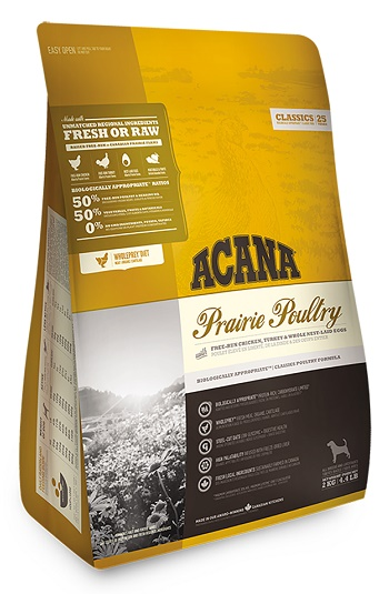 Acana Prairie Poultry сухой корм для собак всех пород с курицей