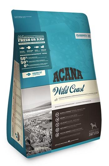 Acana Wild Coast сухой корм для собак всех пород с рыбой