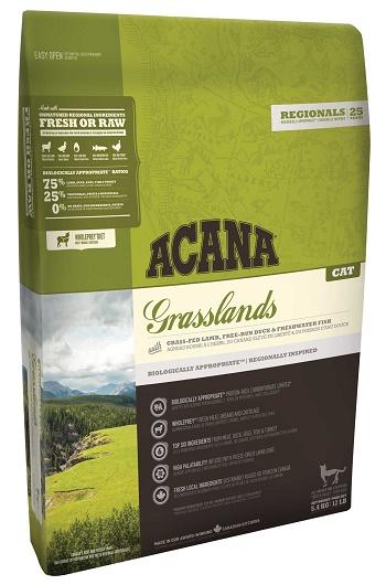 Acana Grasslands сухой корм для кошек беззерновой с ягненком