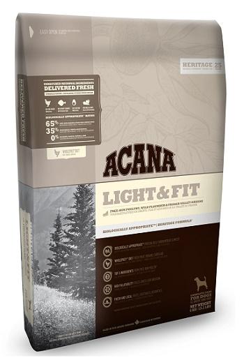 Acana Light & Fit сухой корм для собак с избыточным весом