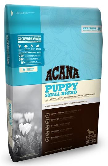 Acana Puppy Small Breed сухой корм для щенков малых пород