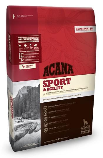 Acana Sport & Agility сухой корм для активных собак всех пород