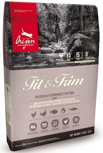 Orijen Fit&Trim сухой корм для кошек с избыточным весом