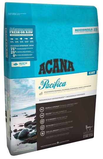 Acana Pacifica сухой корм для кошек беззерновой с рыбой