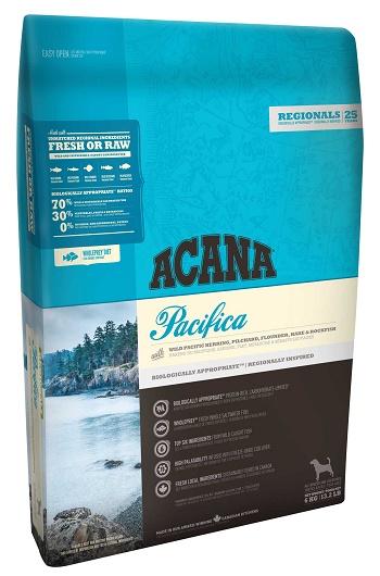 Acana Pacifica сухой корм для собак беззерновой с рыбой