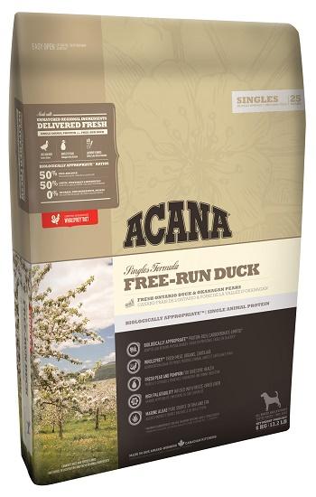 Acana Free-Run Duck сухой корм для собак беззерновой с уткой SALE