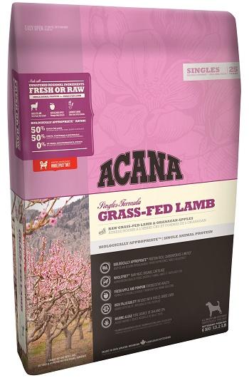 Acana Grass-Fed Lamb сухой корм для собак беззерновой с ягненком