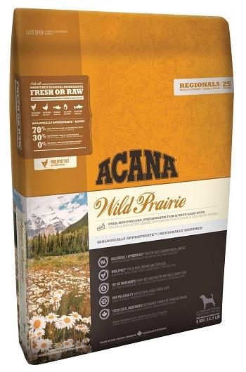 Acana Wild Prairie сухой корм для собак беззерновой с цыпленком