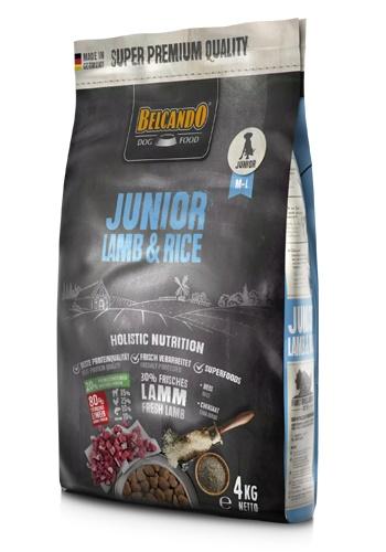 Belcando Junior Lamb&Rice сухой корм для щенков средних и крупных пород