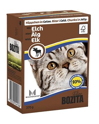 Bozita Feline консервы для кошек с мясом лося в желе