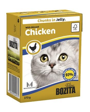 Bozita Feline консервы для кошек с рубленной курицей в желе