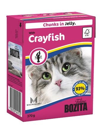 Bozita Feline консервы для кошек с лангустом в желе