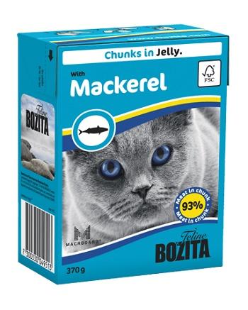 Bozita Feline консервы для кошек со скумбрией в желе