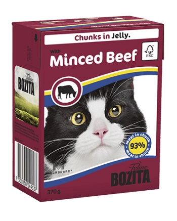 Bozita Feline консервы для кошек с рубленной говядиной в желе