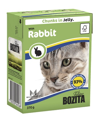 Bozita Feline консервы для кошек с кроликом в желе