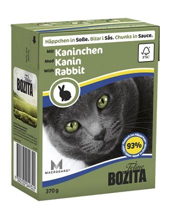 Bozita Feline консервы для кошек с кроликом в соусе
