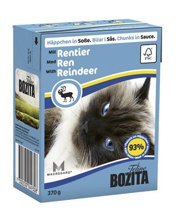 Bozita Feline консервы для кошек с оленем в соусе