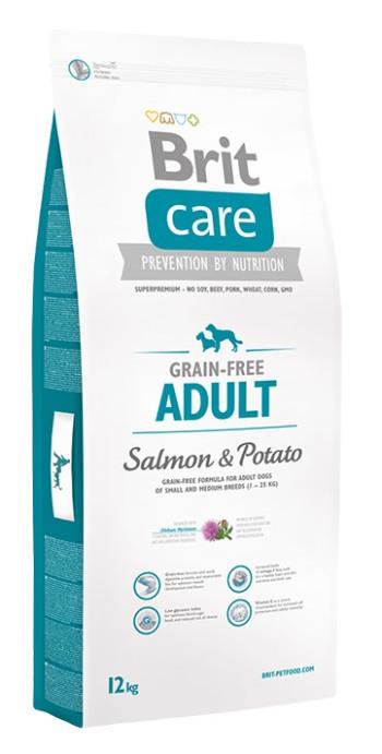 Brit Care Adult Small&Medium Breed сухой корм для взрослых собак мелких и средних пород с лососем и картофелем
