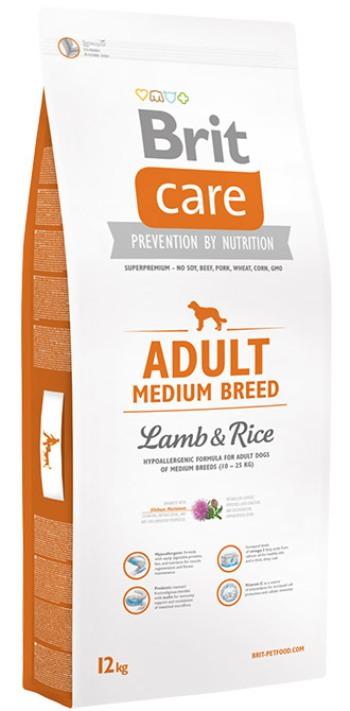 Brit Care Adult Medium Breed сухой корм для взрослых собак средних пород с ягненком и рисом