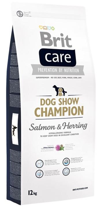 Brit Care Dog Show Champion сухой корм для выставочных собак с лососем и сельдью