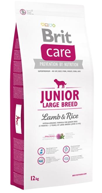 Brit Care Junior Large Breed сухой корм для щенков и юниоров крупных пород с ягненком и рисом