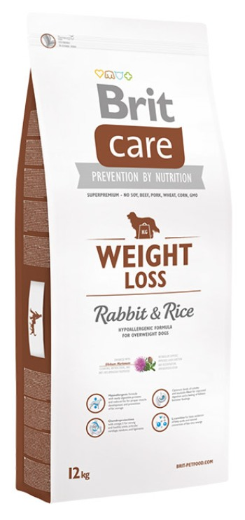brit care weight loss rabbit rice dog