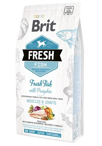 Brit Fresh Fish Muscles&Joints сухой корм для взрослых собак крупных пород с рыбой