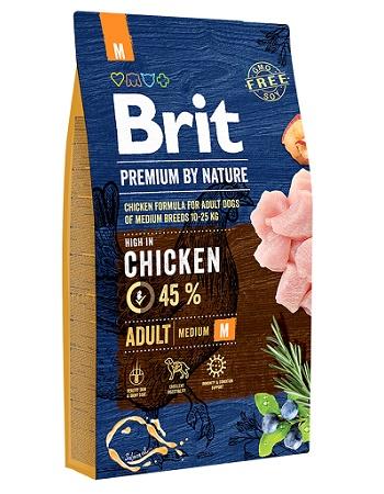 Brit Premium by Nature Adult M сухой корм для собак средних пород