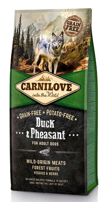 Carnilove Duck&Pheasant сухой корм для собак беззерновой с уткой и фазаном