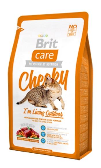 Brit Care Cat Cheeky сухой корм для активных и уличных кошек с олениной