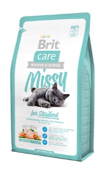 Brit Care Cat Missy сухой корм для стерилизованных кошек с курицей