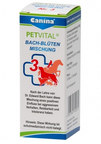 Canina Bach-Bluten №3  гомеопатическое средство