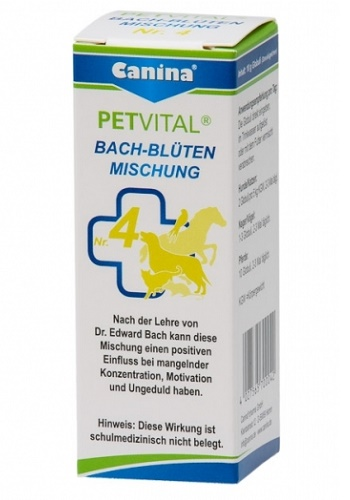 Canina Bach-Bluten №4  гомеопатическое средство