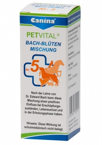 Canina Bach-Bluten №5  гомеопатическое средство