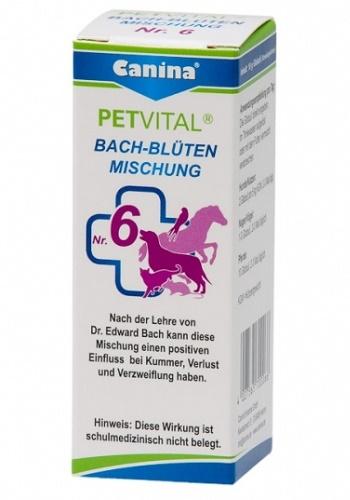 Canina Bach-Bluten №6  гомеопатическое средство